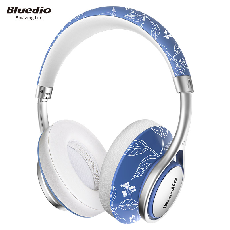 Bluedio A2 foldable bluetooth headphones BT4.2 Stereo wireless headset for phones Fashion design over ear music headphone original a8 wireless headphones over ear stereo headphone with nfc 3 5mm audio in aptx headset for tv pc
