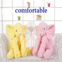 60cm Baby Plush Elephant Toys With Blanket Soft Toys Stuffed Animal Elephant Dolls For Baby Kids