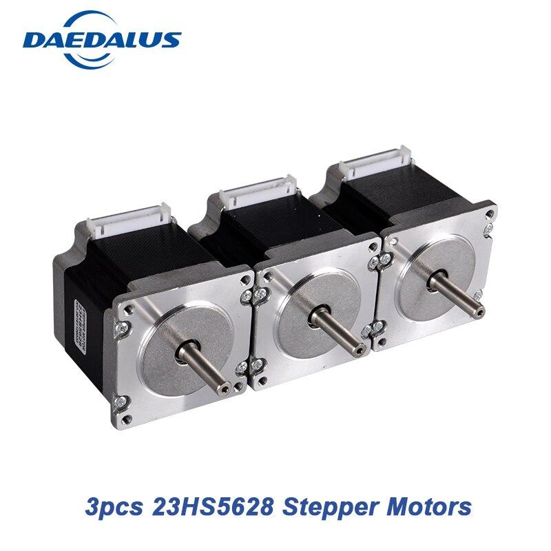 цена на 4-lead Stepper Motor Nema23 23HS5628 Stepper Motor 57 Motor Two Phase 4 Wire Hybrid 2.8A CNC Laser Grind Foam Plasma Cut