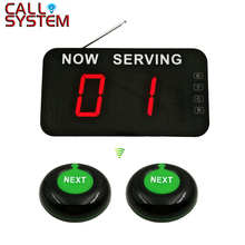 Number Calling System Take A Wireless Queue Management (2 button +1 display)