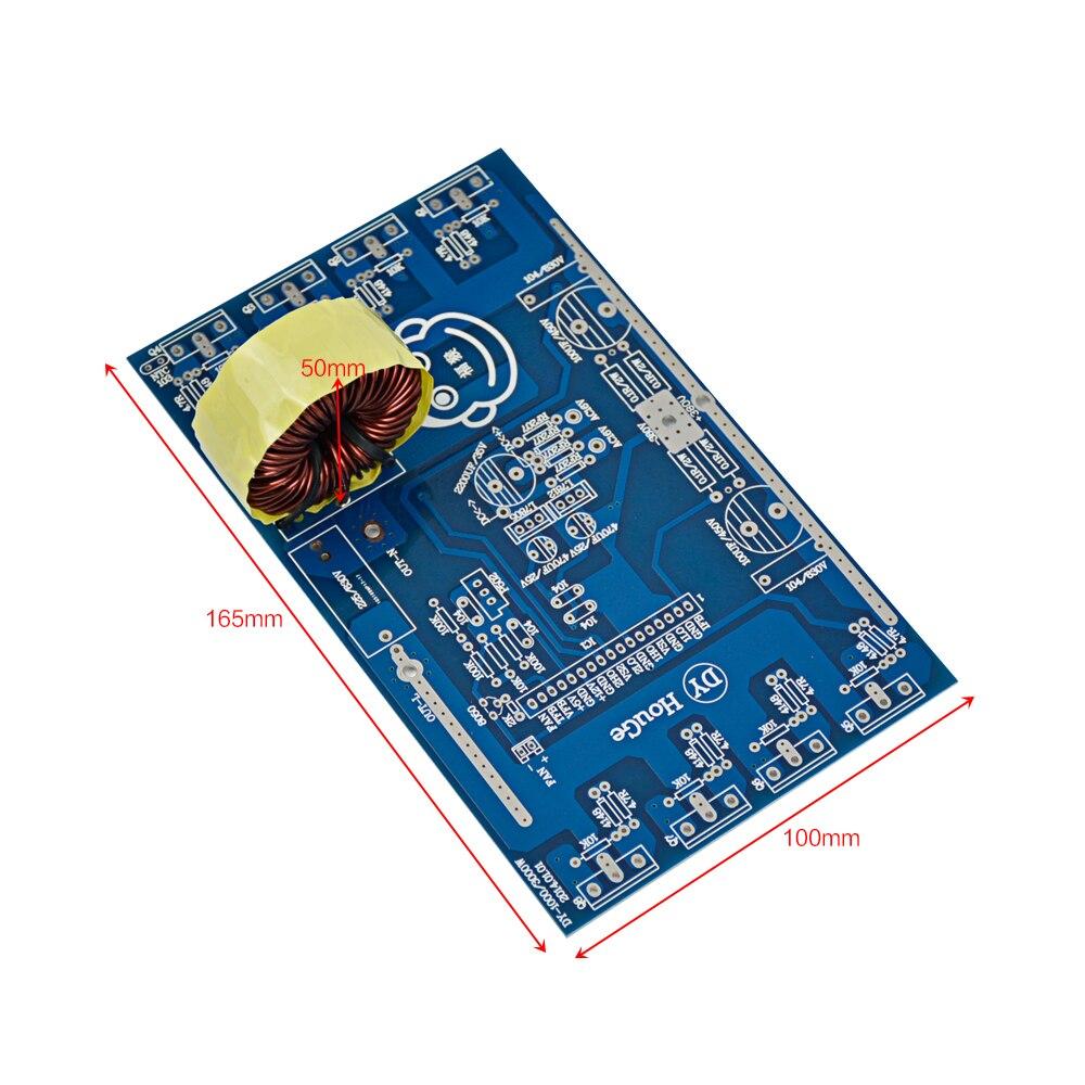 SUNYIMA Updates 2000W Pure Sine Wave Inverter Power Board Post Sine Wave Amplifier Board DIY Kits