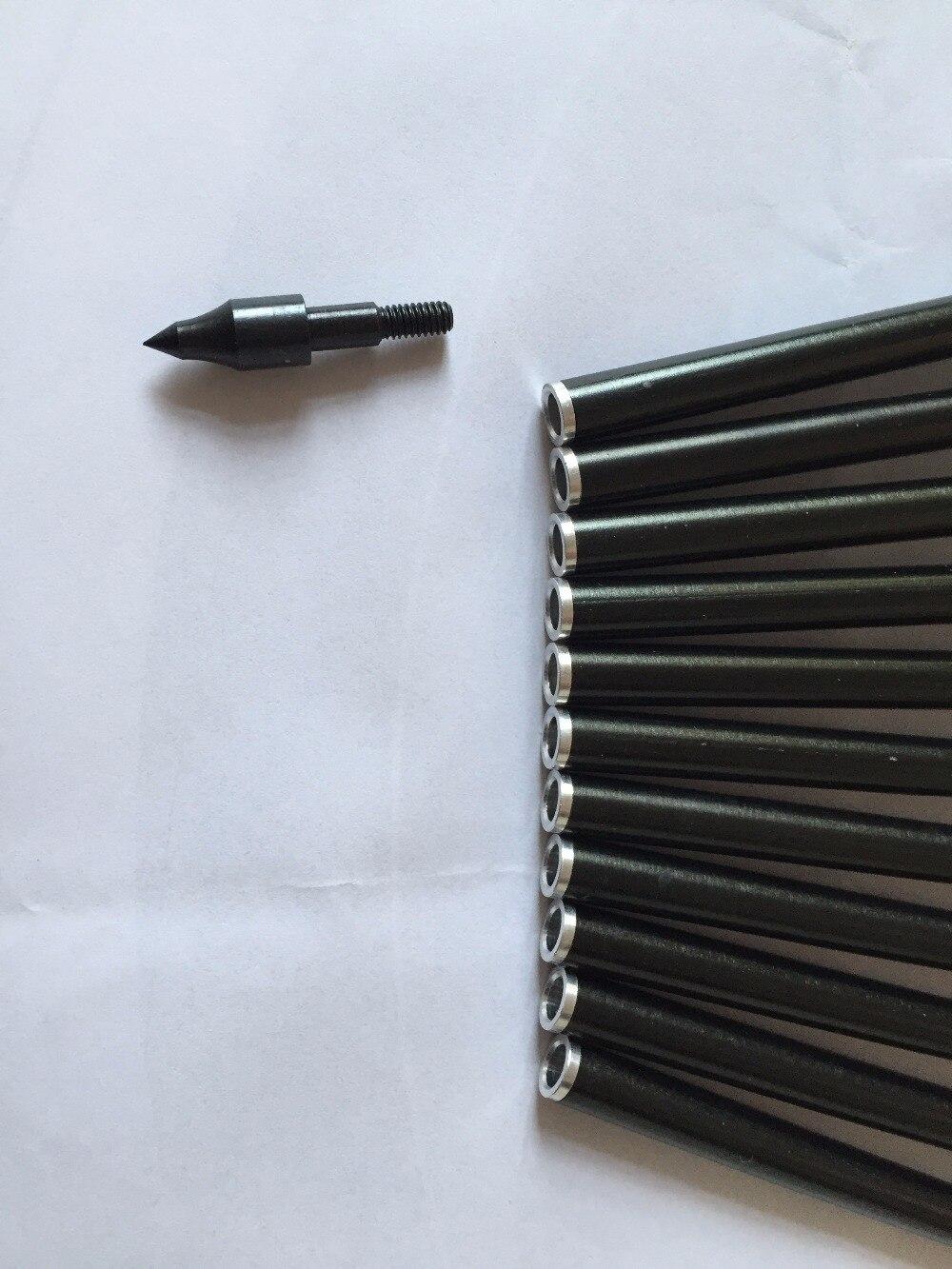 12 pcs 13 de aluminio flecha flecha 04