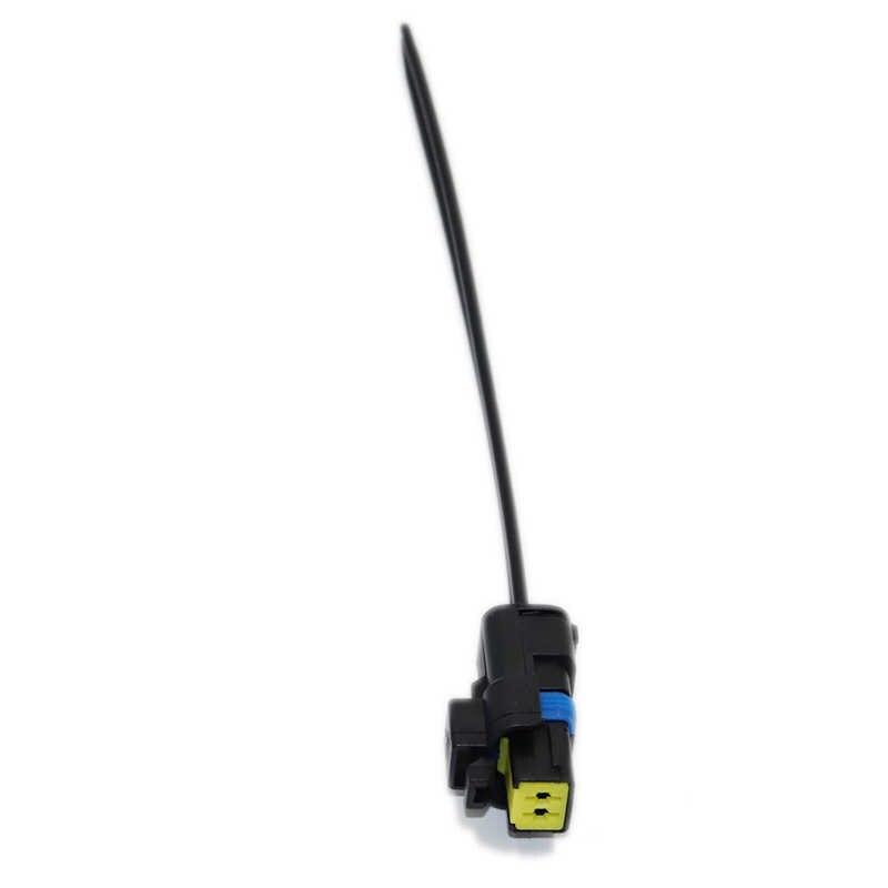 2 Pin/Manier FCI Vrouwelijke Lamp Connector Water Temperatuursensor Plug Met Draad Pigtail Voor Renault Peugeot Citroen