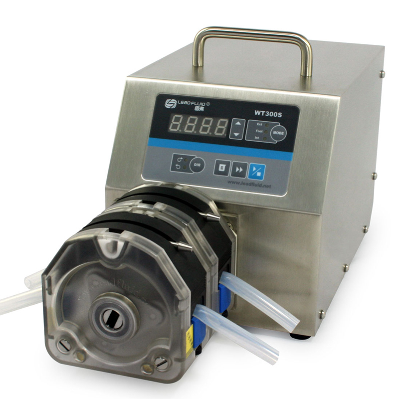 WT600S 2XYT25 Big Flow rate Adjustable Peristaltic Pump Industrial Lab dosing Tubing Peristaltic Pump 50-2900ml/min peristaltic plus s с 1 мес 2 шт