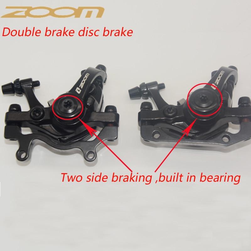 New ZOOM DB680 DB-680 MTB Mechanical Disc Brake Two sides Braking Force