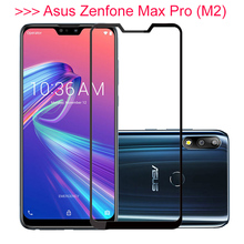 Protective Glass For Asus Zenfone Max Pro M2 ZB631KL pro m2 zb631kl Screen Protector Tempered ZB633KL