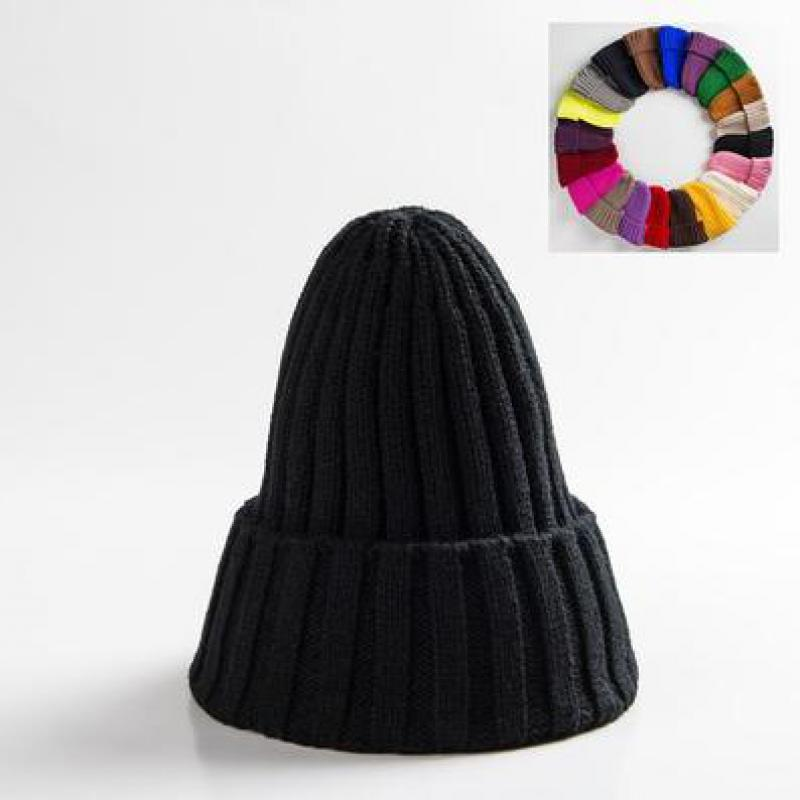 COKK Winter Beanie Hat Female For Women Girl s Knitted Beanies Cap Thick Skullies Knit Cheap