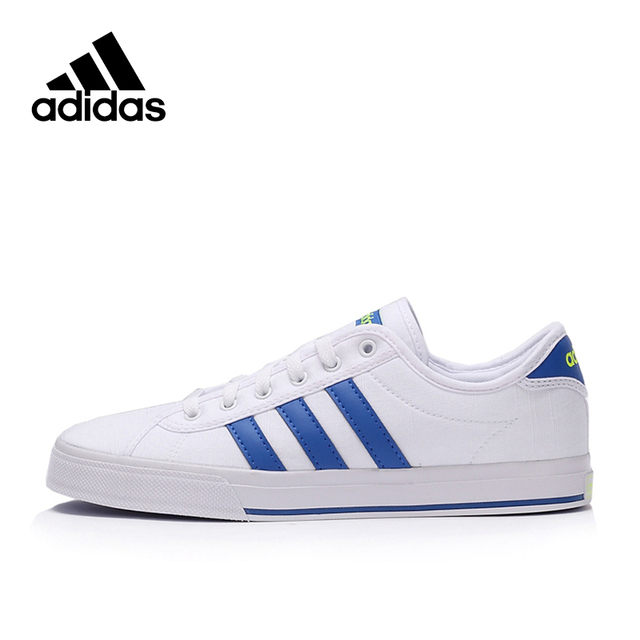 Official New Arrival Adidas NEO Label White Blue Men s Skateboarding Shoes  Sneakers 7c5df92eee67