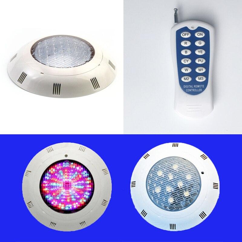 AC12V 18 w 24 w RGB LED Onder Water Licht Vijver Zwembad Waterdicht multi color Outdoor Licht - 4
