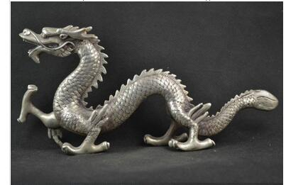 Decorated Miao Silver Carving Lifelike Dragon Rare Noble Statues Tibetan Silver decoration bronze factory outletsDecorated Miao Silver Carving Lifelike Dragon Rare Noble Statues Tibetan Silver decoration bronze factory outlets