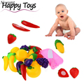 11PC New Arrival Cutting Fruit Vegetable Pretend Play Children Kid Educational Toy