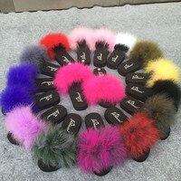 15 Colors Ostrich Hair Slippers Fur Furry Slide Flip Flops Women Home Slippers Female Sweet Fenty Indoor Soft Comfotable 35-42