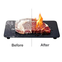 Fast Defrosting Tray for Frozen Food Meat Fruit Quick Defrosting Plate The Safety Way Defrosting Meat Tray Kitchen Gadget Tool стоимость