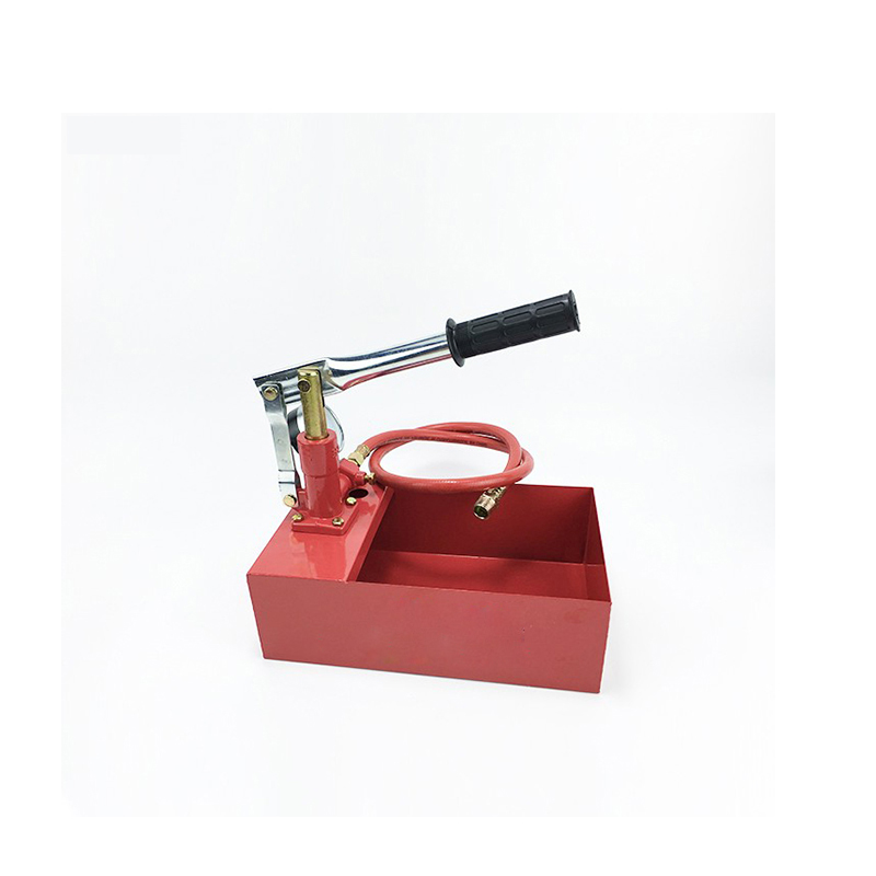 ФОТО Red Colour Free Shipping Manual Pressure Test Pump SY-25