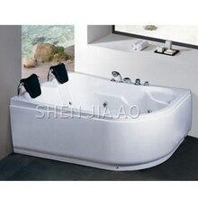 1073 двойная акриловая ванна джакузи для серфинга переключатель горячей и холодной воды функция серфинга с душевой джакузи 1 шт