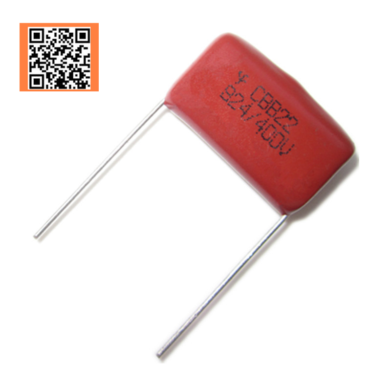 5pcs CBB 400V 0.82UF 824J 400V 5% PITCH 15MM DIP CBB Polypropylene Film Capacitor