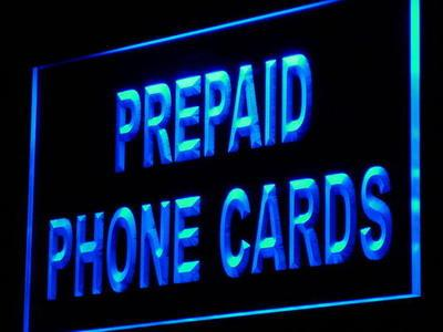 i878 Prepaid Phone Card Shop Mobile Decor Neon Light Light Signs On/Off Switch 20+ Colors 5 Sizes