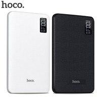 HOCO 30000mAh Mobile Power Bank Portable Fast Charge Powerbank Three USB Output Li Polymer Batteries Pack