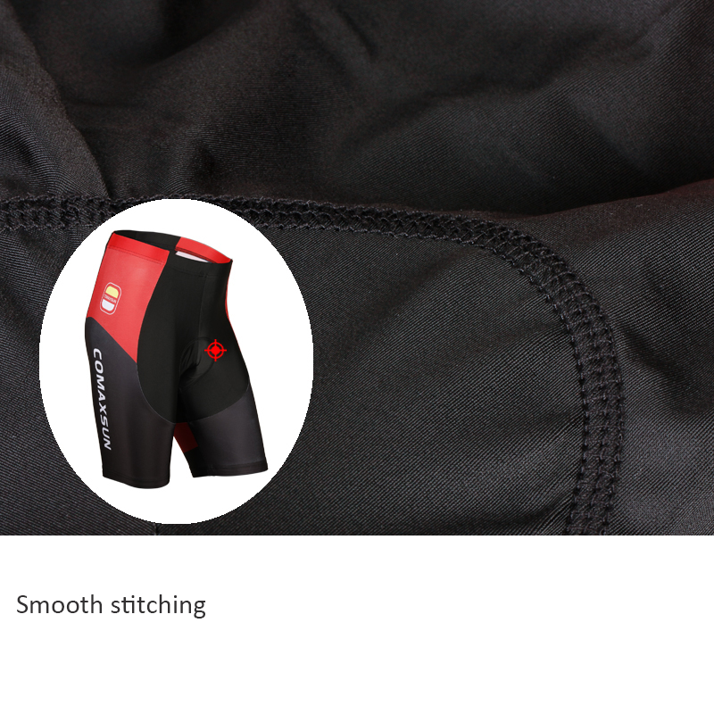 COMAXSUN Cycling Shorts 5D Gel Padded Shockproof MTB Bike Bicycle Road Ropa Ciclismo Tights in Cycling Shorts from Sports Entertainment