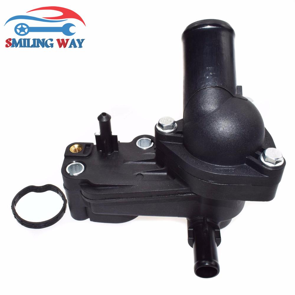 Engine Coolant Thermostat /& Housing Assembly For Focus C-Max 2S4Q9K478AD 1198060