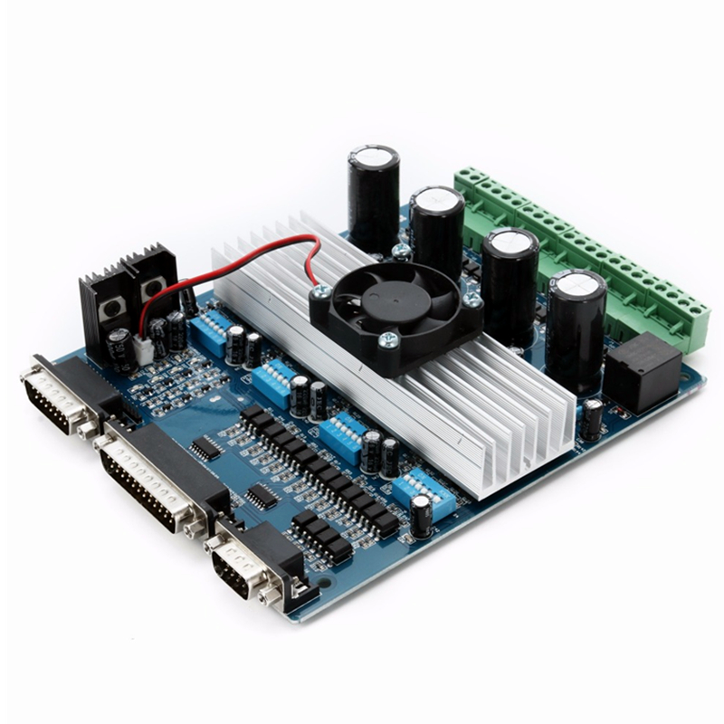 3 Axis / 4 Axis TB6560 CNC Engraving Machine Stepper Motor Driver Controller Board 3.5A for CNC Router aluminum box cnc router tb6560 3 axis 3 5a driver stepper motor board cnc controller hy tb3 ha