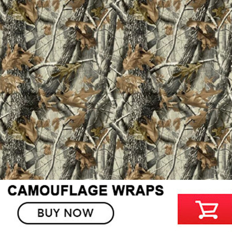 OPLARE FS001 LEAF REALTREE CAMOUFLAGE VINYL WRAPPING FILMS Nature Hunting For Truck Jeep Size:1.52*5/10/15/20/25/30m/Roll