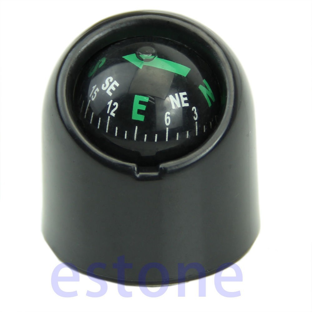 Image 5 - Outdoor Accessories Auto Car Truck Boat Adhensive Sticker Mini Portable Self adhesive Compass Ball-in Compass from Sports & Entertainment