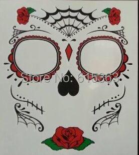 2015 newest face tattoo eye tattoo rhinestone stickers Halloween deco-in  Temporary Tattoos from Beauty & Health on Aliexpress.com | Alibaba Group
