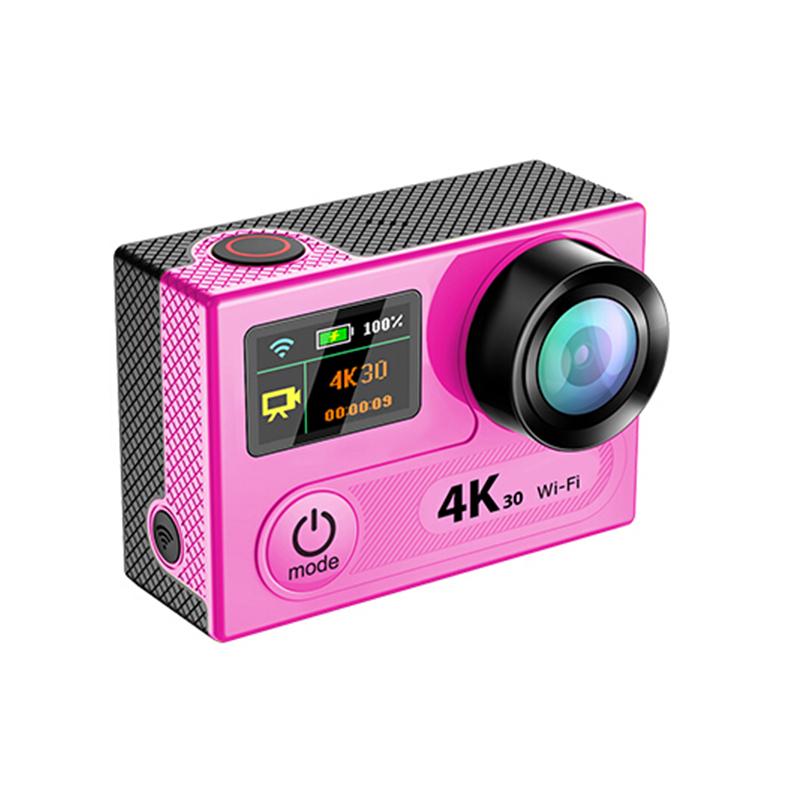 H8R 4K 30fps MINI WIFI Sport Action Camera Dual Screen go Underwater pro Cam hero 4 style with Remote 360vr video Shoot sportcam add camera bag and two battery sport action camera 1080p hd 12mp sj4000 wifi extre sports camara gopro hero 3 go pro 4 cam style