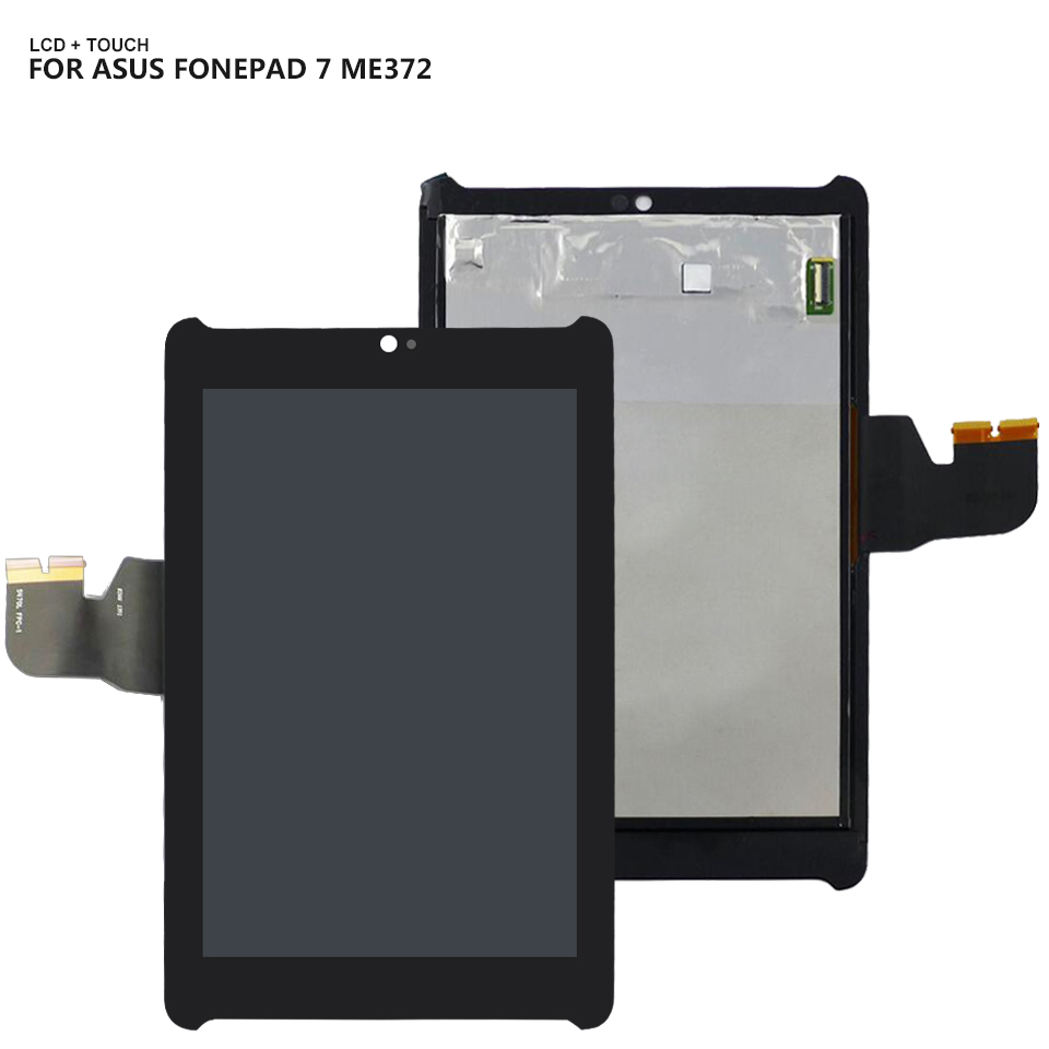 For <font><b>Asus</b></font> Fonepad 7 LTE , ME372CG ME372 KOOE <font><b>K00E</b></font> 5470L FPC Display Panel LCD Combo Touch Screen Glass Sensor Replacement Parts image