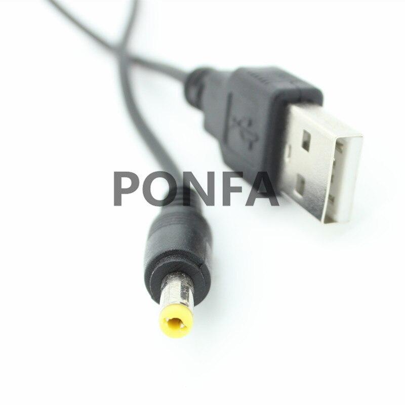 Image 3 - 1 м 3A Черный DC Шнур от вилки USB A до DC 4,0*1,7 4,0*1,7 мм 4,0 мм x 1,7 мм 4,0x1,7 мм Jack зарядный кабель 3 фута-in Кабели питания from Бытовая электроника