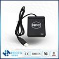 Поддержка ISO 14443 USB NFC смарт-ридер ACR1251