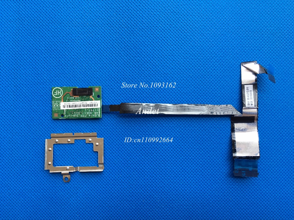 New Original for Lenovo ThinkPad T430S T430SI Fingerprint Reader Board Sensor FPR Subcard Cable 48.4QE17.011 new original for lenovo thinkpad yoga 260 bottom base cover lower case black 00ht414 01ax900