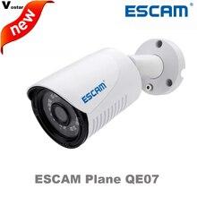 ESCAM Самолет QE07 Сети водонепроницаемый Открытый POE, ip-камера Ночного Видения Ик-cut Поддержка motion detector colud p2p ip пуля камеры