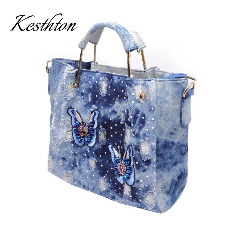 2019 Newest Denim Women Handbags Big Capacity  Women Bag  Designer Bags Famous Brand Messenger Bags2019 Newest Denim Women Handbags Big Capacity  Women Bag  Designer Bags Famous Brand Messenger Bags