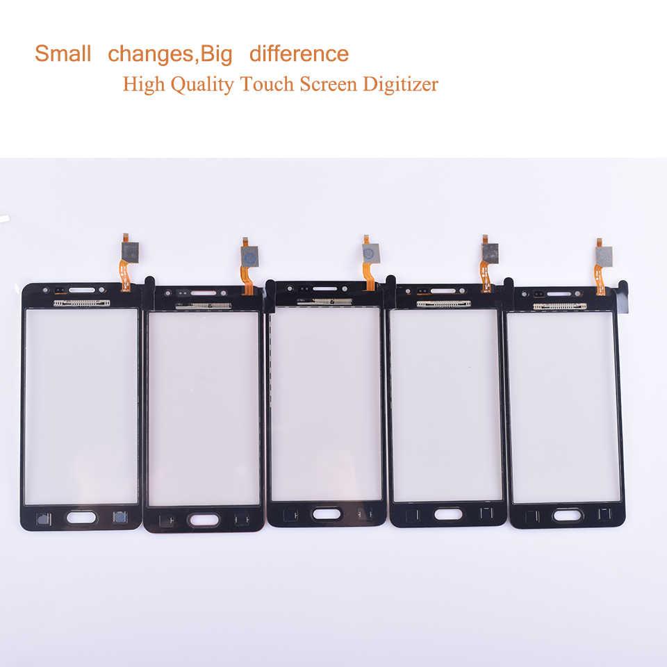 G532 شاشة لمس لسامسونج غالاكسي J2 Prime G532 SM-G532 محول الأرقام بشاشة تعمل بلمس لوحة الاستشعار الجبهة زجاج الخارجي عدسة لا LCD