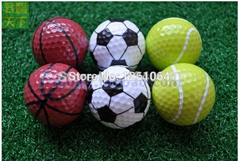 Sports golf balls double ball for golf best gift for friend 6pcs/bag