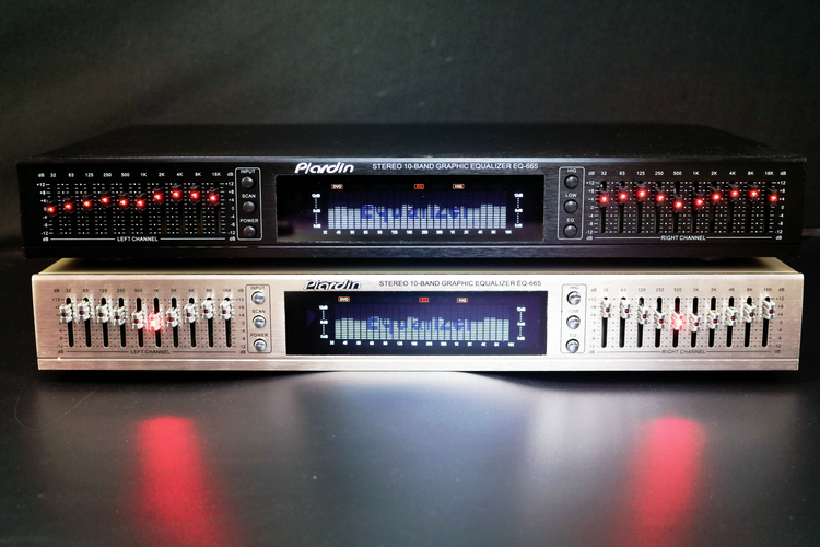 NEW Arrive EQ665 Equalizer Hifi Home EQ Balanced Mixer Double 10 Segment Stereo Treble Alto Bass Regulation
