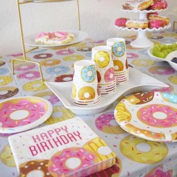 Donuts Theme Party Supplies