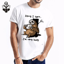 QIM 2019 Tshirt Men Print High Quality Summer O-Neck Funny Short Sleeve Fashion Top Tees Man Clothes Streetwear