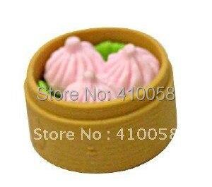 Wholesale Retail Discount Chinese Steam Bread Eraser For Children School Stationery  Eraser Children Gift