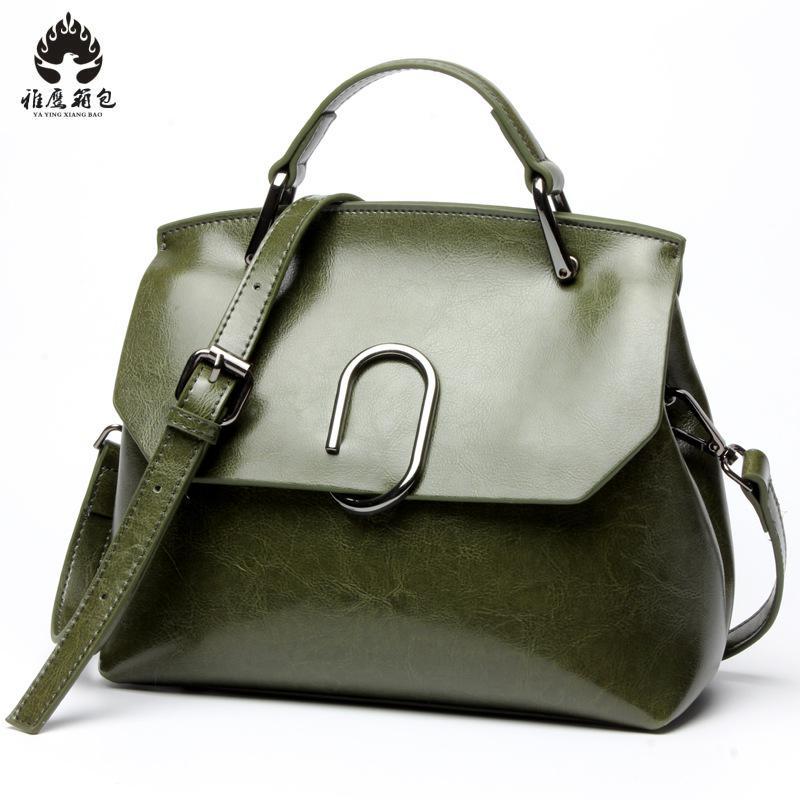 купить Women Genuine Leather Handbags Summer Style Women Bag Sac A Main Femme Luxury Handbags Women Bags Designer Small Handbag по цене 3075.48 рублей