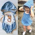 2016 SUMMER AUTUMN BABY ROMPERS JEANS BODYSUITS BABY GIRL CLOTHES BABY BOY CLOTHES VESTIDOS KIKIKIDS VETEMENT ENFANT KIDS