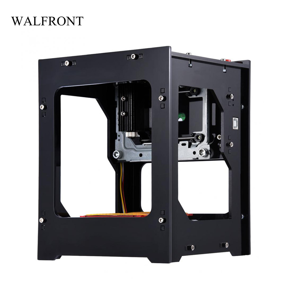 все цены на WALFRONT 1 Set Laser Engraver Printer Machine with Protective Glasses Mini Cutting Wireless Bluetooth Print Engraver Tools Sale онлайн