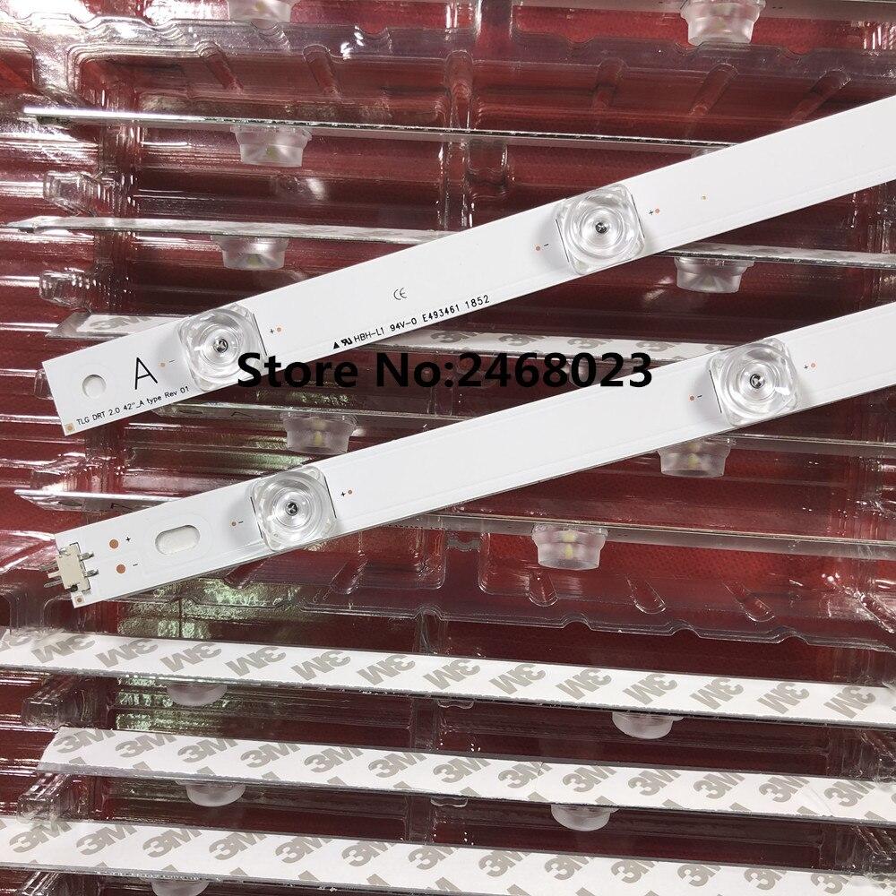 LED Backlight 8 Lamp For LG 42 inch TV DRT 3.0 42