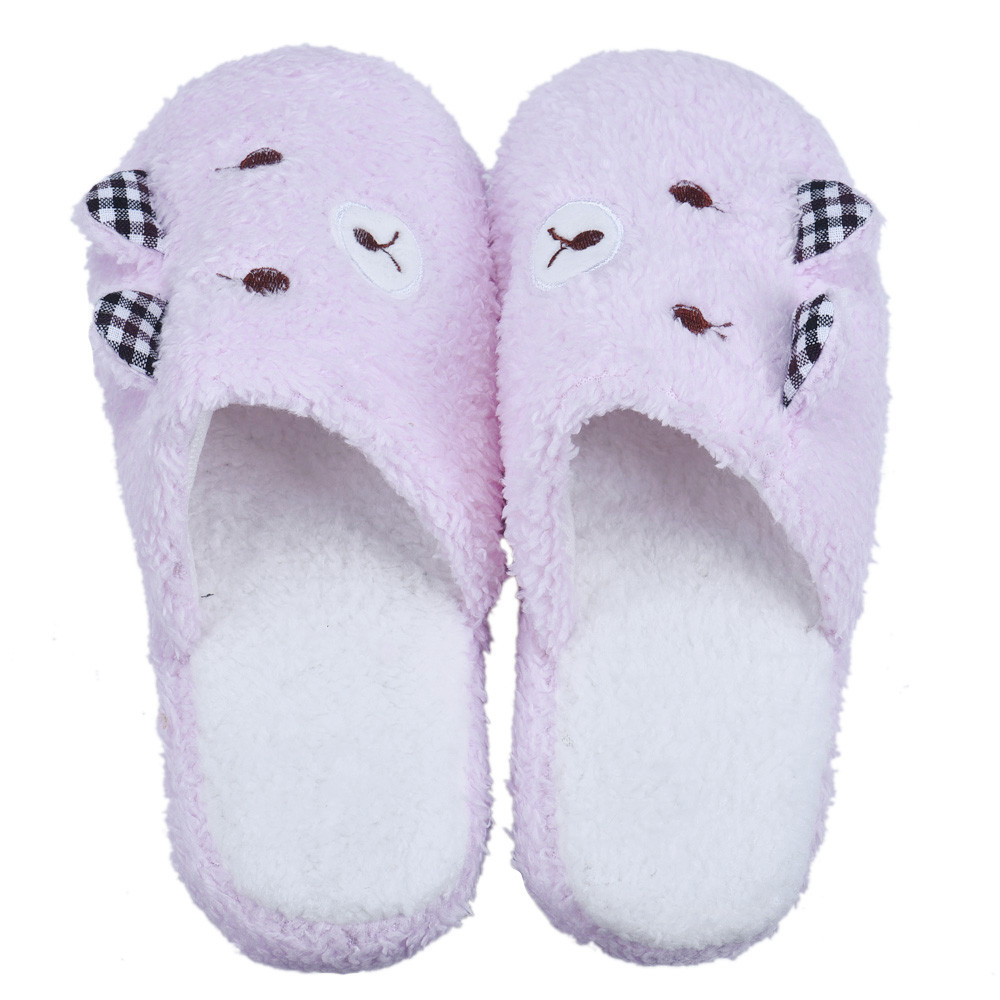 Hot Sale 2017 New Fashion Women and Men Winter Soft Warm Lovely Bear Home Floor Cotton-padded Slippers Shoes High Quality xiniu