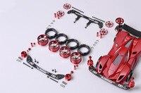 Ücretsiz Kargo S1/S2/MA/MS/FM/TZ/VS/AR Şasi Değiştirme Yedek parçaları DIY Için Tamiya Mini 4WD RC Araba Modeli