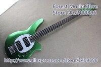 Matte Green Finish Music Man Bongo 5 Electric Bass Guitars Left Handed Custom Available