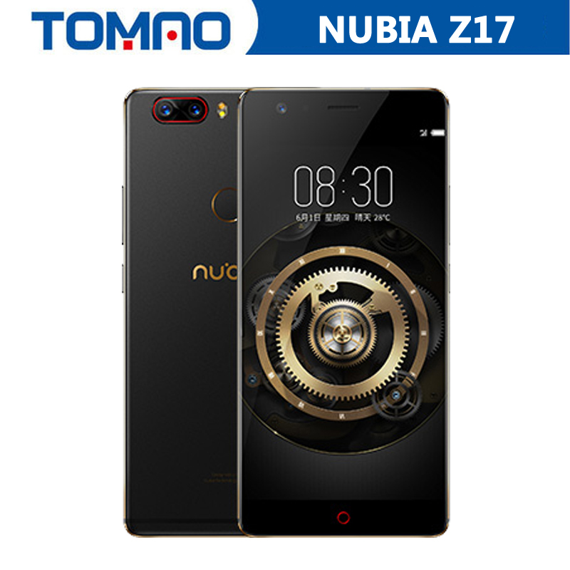 New Arrival Nubia Z17 5 5 4G LTE Mobile Phone Snapdragon 835 1920 1080P 6G 64GB