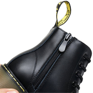 Image 5 - NEW 2020 Spring Genuine Leather Children Motorcycle boots British style Baby Girls shoes Military boots Boys Kids Snow Boots 04